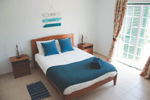 Double room at the Kitesurf Lodge