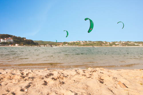 kitespot Obidos lagoon